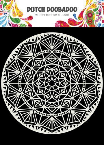 Dutch Doobadoo Dutch Mask Art Mandala