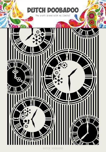 Dutch Doobadoo Dutch Mask Art Clocks & Stripes