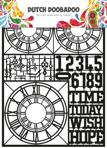 Dutch Doobadoo Dutch Paper Art Clocks