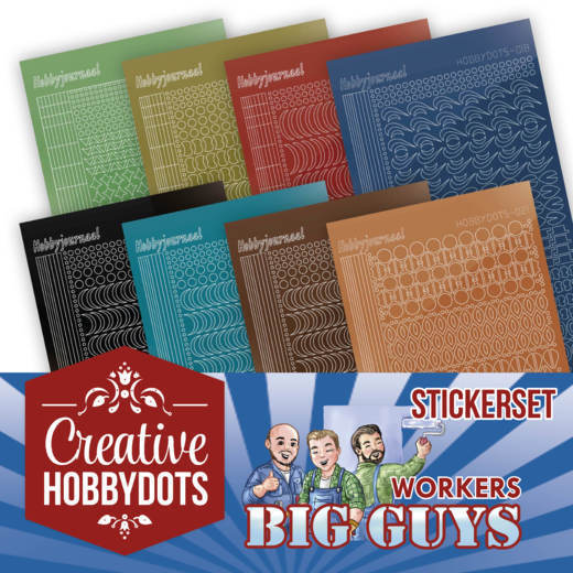 Creative Hobbydots 2 - Big Guys Sticker Set
