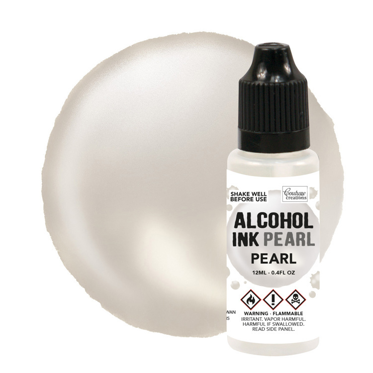 Pearl / Pearl Pearl Alcohol Ink (12mL | 0.4fl oz)