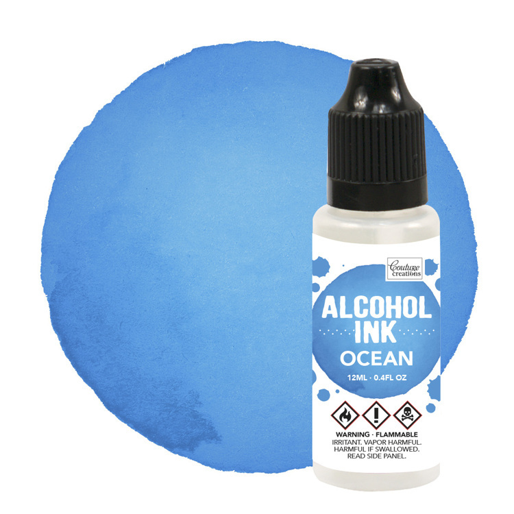 Alcohol Ink Sail Boat Blue / Ocean (12mL | 0.4fl oz)