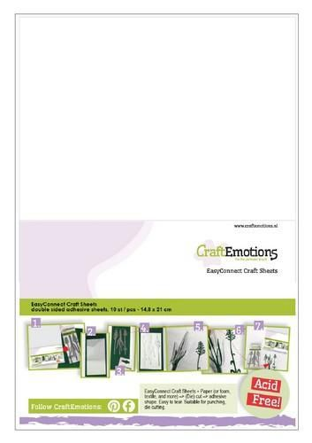 CraftEmotions EasyConnect Craft sheets A5