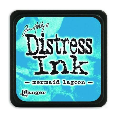 Ranger Distress Mini Ink pad - mermaid lagoon  Tim Holtz