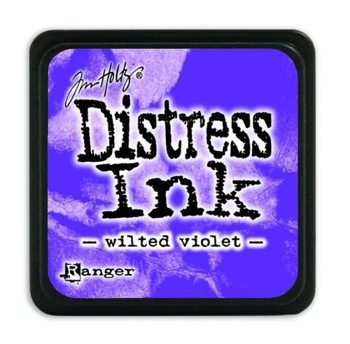 Ranger Distress Mini Ink pad - wilted violet  Tim Holtz