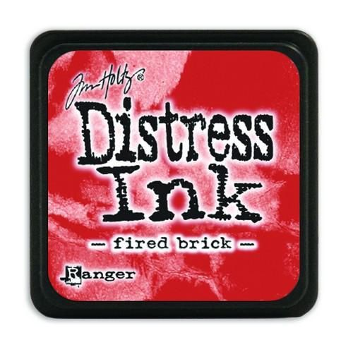 Ranger Distress Mini Ink pad - fired brick  Tim Holtz