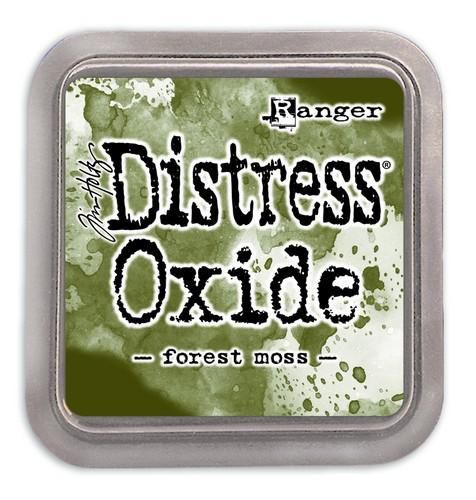 Ranger Distress Oxide - forest moss  Tim Holtz