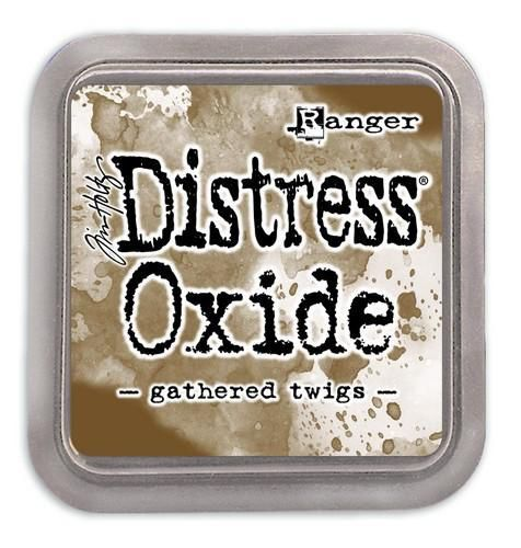 Ranger Distress Oxide - gathered twigs  Tim Holtz
