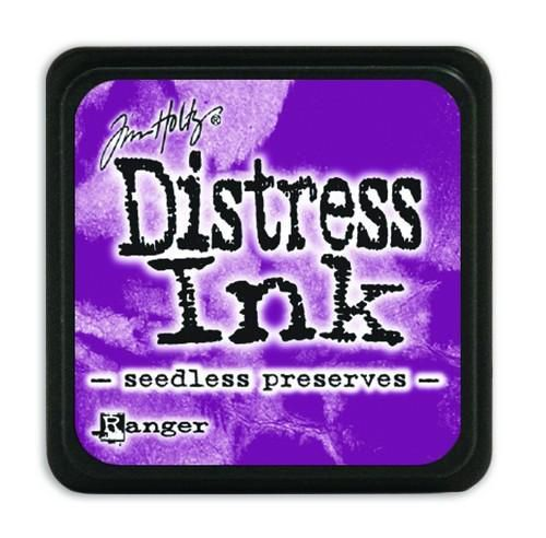 Ranger Distress Mini Ink pad - seedless preserves  Tim Holtz