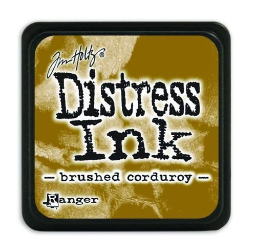 Ranger Distress Mini Ink pad - brushed corduroy  Tim Holtz
