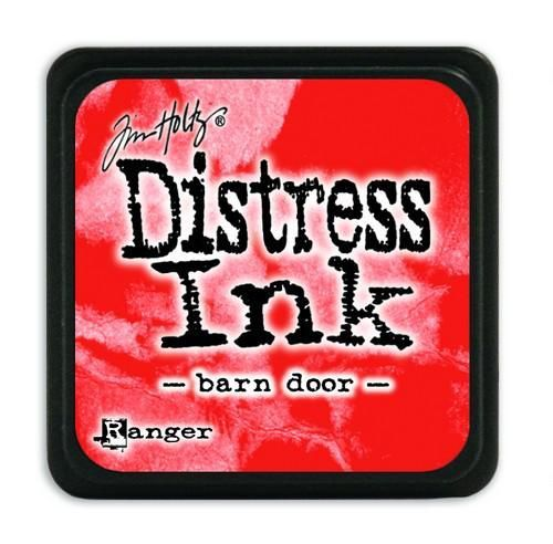 Ranger Distress Mini Ink pad - barn door  Tim Holtz