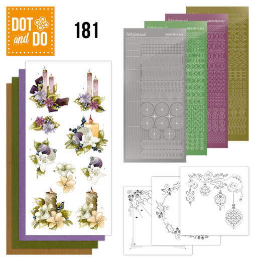Dot and Do 181 - Precious Marieke - A Touch of Christmas - Candles