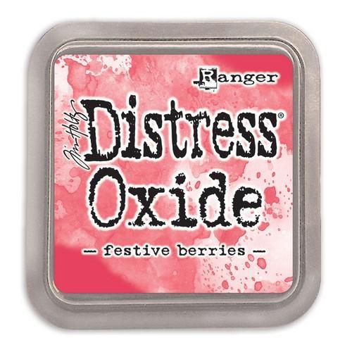 Ranger Distress Oxide - Festive Berries  Tim Holtz