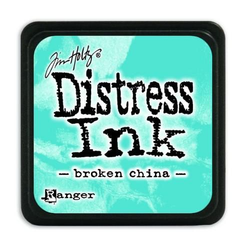 Ranger Distress Mini Ink pad - broken china  Tim Holtz