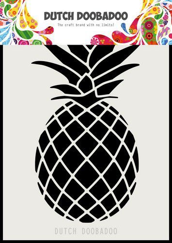 Dutch Doobadoo Dutch Mask Art A6 Ananas