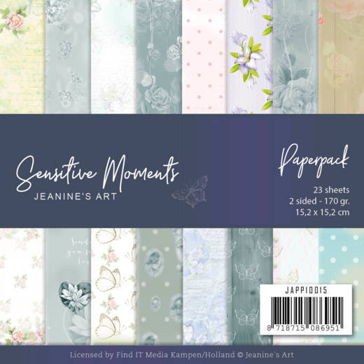 Paperpack - Jeanine's Art - Sensitive Moments