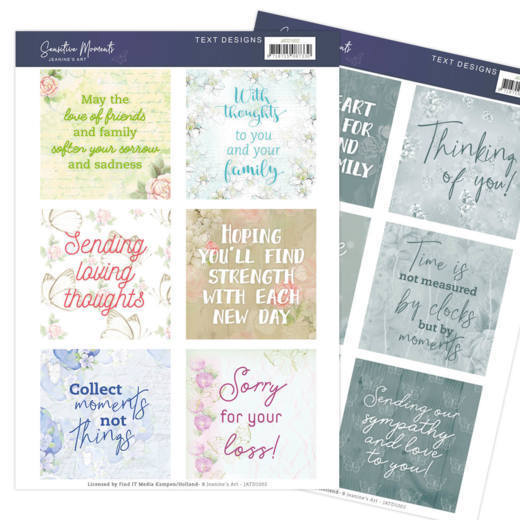 Text Designs - Jeanine's Art - Sensitive Moments (EN)