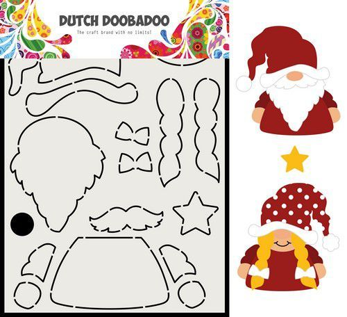 Dutch Doobadoo Card Art Built up Gnome