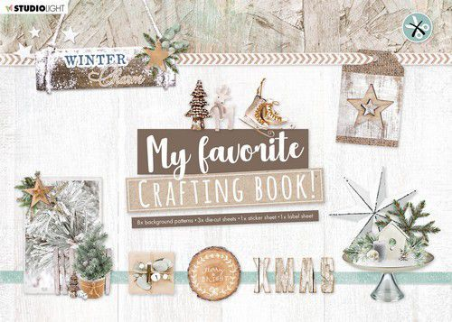 Studio Light Crafting Book MF Winter Charm Elements nr.97