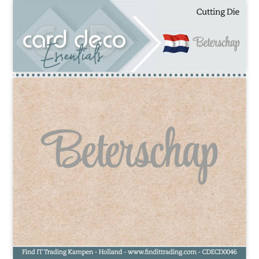 Card Deco Essentials - Cutting Dies - Beterschap