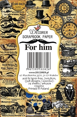 Decorer For Him Paper Pack
