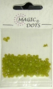 Magic Dots moss green
