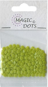 Magic Dots - Flower Mossgreen