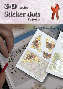 3d with sticker dots patterns